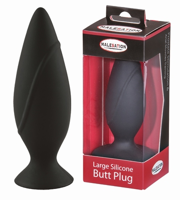 Image of Silicone Buttplug, 4 cm by Malesation