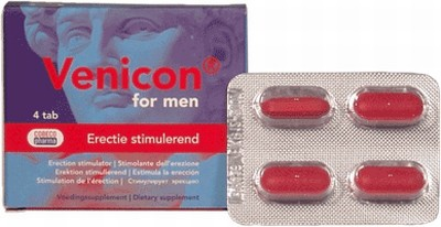 Venicon for Men erectiepillen, 4 capsules