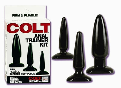 Image of Colt Anal Trainer Kit (3 buttplugs)
