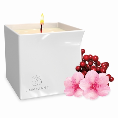 JimmyJane Afterglow Massage Kaars Berry Blossom