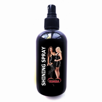 Rimba Shining spray voor latex en rubber, 250 ml