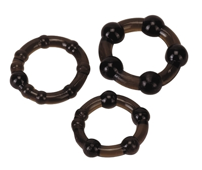Cockrings set - Pro Rings, frosted black