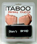 TABOO Kinky Cuffs - Don't Stop