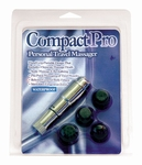 Compact Pro Personal Travel Massager, zilver