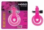 Cockring met clitoris stimulator, Rabbit Rose