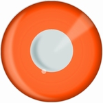Funlenzen, DemonEyes contactlenzen, Orange