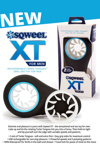 Sqweel XT stimulator for Men